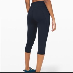 NWOT Lululemon fast and free crop